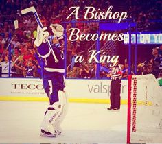 On this night a Bishop becomes a King.