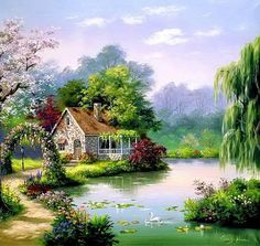 Swan Song Cottage  ~c.c.c~ Sung Kim