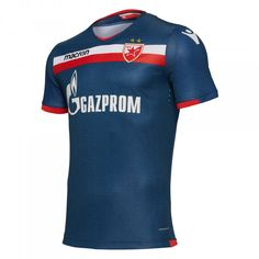 The away match Red Star Belgrade shirt combines tradition with innovation and is therefore in shades of royal blue and red and white details. Red Star Belgrade, Retro Football Shirts, Polo Ralph Lauren, Mens Tops, Image, Fashion, Moda, Fashion Styles, Fashion Illustrations