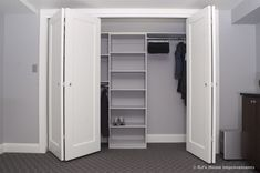Storage and Closets in Basement by DJ's Home Improvements - contemporary - closet - new york - DJ's Home Improvements