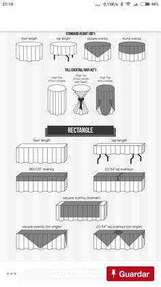 This linen size chart is helpful when deciding what size ...