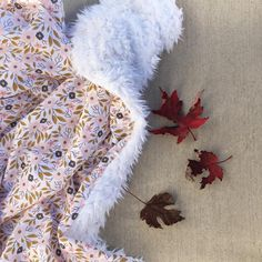 """113 Likes, 6 Comments - Luxury Baby Bedding + Gifts (@madlywish) on Instagram: """"So cozy! 🍂 Linden Blossom Blanket #babybedding"""""""