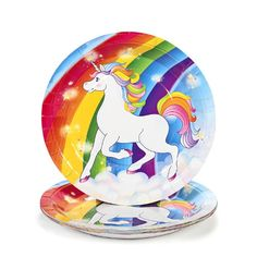 Unicorn Rainbow Dinner Plates (8 pc) Fun Express http://www.amazon.com/dp/B0091MV6HO/ref=cm_sw_r_pi_dp_f.lVtb1T0TJ13FX3