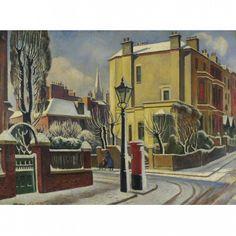 ADRIAN ALLINSON 1890-1959 London under Snow
