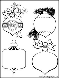 Detailed Christmas Coloring Pages - Bing images