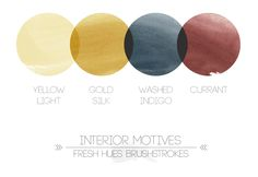 interior motives | fresh hues brushstrokes