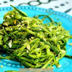 Seaweed Salad, Green Beans, Pesto, Menu, Vegetables, Cooking, Ethnic Recipes, Food, Diet