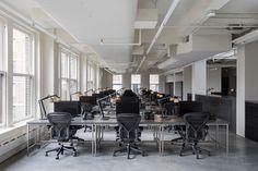 aesop office new york New York Office, Interior Architecture, Interior Design, Aesop, Skylight, Retail Design, Table, Furniture, Home Decor