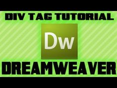 How to create a Layout using Div Tags and CSS in Dreamweaver