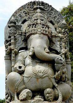 Shri Ganesh - Ganesha statue at Belur