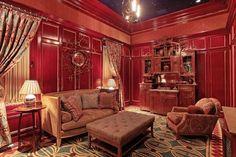Victorian Gothic interior style: November 2012