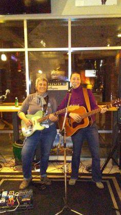 Robin Mink and Betsy Harris at Caffe Tempo. 11-7-17.