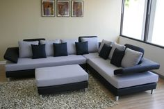 Shiny hall furniture design sofa set Photos, colorful modern sofa design for hall or 15 furniture stores brisbane Corner Sofa Design, Couch Design, Living Room Sofa Design, Living Room Decor, Living Room Images, Living Room Designs, Living Rooms, Drawing Room Furniture, Sofa Furniture