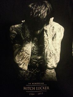 Mitch Lucker- I love this picture so much- Legends Never Die- R.I.P.