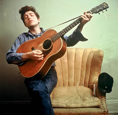"Bob Dylan. ""The pump don't work 'cause the vandals took the handles""."
