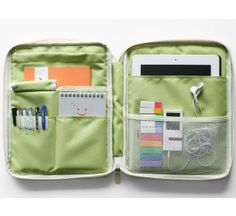MochiThings.com: Better Together iPad Pouch $28.95  This organizer is on my wishlist.