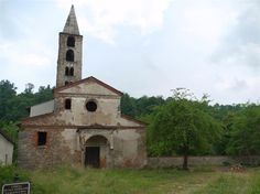 Tollegno (Biella, Italy) - Curavecchia Church, the Old Church of San Germano, rumored to be where Count Saint Germain took his name