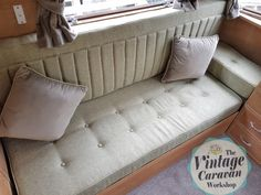 1950s Classic Carlight Caravan repairs and refurbishment by TVCW - Lucy Jayne's Vintage Caravan Workshop, classic restoration and upholstery services