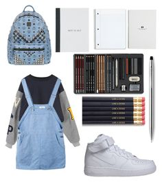 """""""Untitled #22"""" by alex-loves-bts ❤ liked on Polyvore featuring NIKE, MCM, Cross, women's clothing, women's fashion, women, female, woman, misses and juniors"""