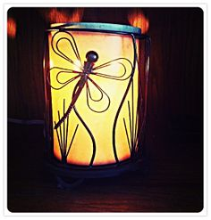 Travertine Core Warmer with Dragonfly Wrap <3 https://nicolevidal.scentsy.us  #Scentsy #HomeDecor #IChooseScentsy