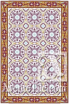 Cuban Heritage Design 140 is a flexible pattern for walls and floors. Historical pattern from Cuba and can be used with or without double border. Shower Floor, Color Palette, Cuban Tile, Historic Buildings, Tile Rug, Rugs Layout, Cement Tile, Heat Installation, Tile Patterns