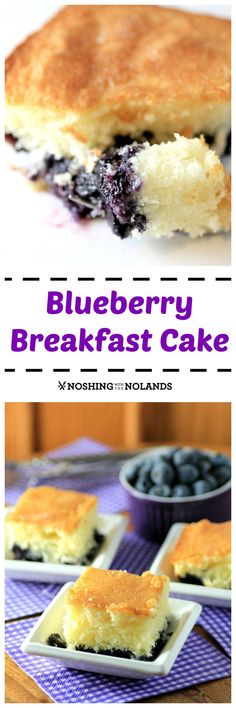 Blueberry Breakfast Cake is a great cake to celebrate Mother's Day #SundaySupper or to enjoy all summer long!