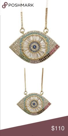Brand new in box. Evil eye is super popular and trending. Purchased at Saks Avenue. Candy Jewelry, Jewelry Necklaces, Color Shampoo, Evil Eye Pendant, 5th Avenue, Eye Candy, Women Jewelry, Popular, Sterling Silver