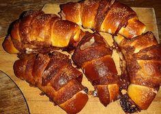 Duplán csokikrémes croissant 🥐🥐🥐 | Barbara Kovácsné Béres Barbi receptje - Cookpad receptek Croissant, Pork, Barbie, Bread, Kale Stir Fry, Brot, Crescent Roll, Baking, Breads