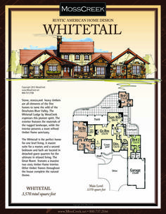 a ready to purchase 3 524 sf home plan from mosscreek ranch style open floor plans with basement house plans