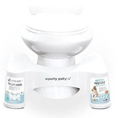 """30% off the 7"""" white plastic Squatty Potty 