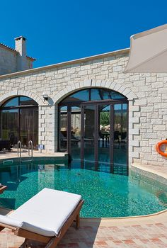 Lets swim! In or out? - View from Platanias Villas in Chania, Crete