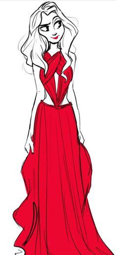 RED dress ♡