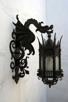 Кованый светильник №79