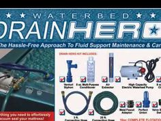http://youtu.be/ojnwO1BTk3I Our competitors may claim to know waterbeds but we are waterbeds. Waterbeds Today have been in the waterbed industry since 1971 and have a wealth of knowledge of the product and what is necessary to give you the optimum experience with 'proper flotation'. Please check out our Facebook https://www.facebook.com/WaterbedsToday page for deals and discounts.