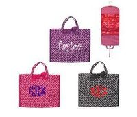Mainstreet Collection Hanging Cosmetic Bag with Monogram