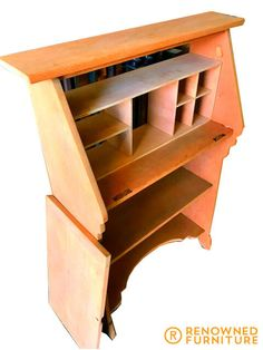 Writers Desk, Furniture Restoration, Wood Furniture, Shoe Rack, Chairs, Photos, Beauty, Home, Timber Furniture