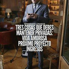 Tres cosas que debes mantener privadas