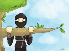 How to Train to Be a Ninja Easily: 12 Steps (with Pictures)