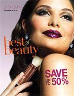 Best of Beauty Avon Campaign 19 - view the online brochure at http://eseagren.avonrepresentative.com/blog/index.html?blog_postid=1302443