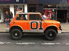 It's them Good Ol'Boys to take us into the evening but it's not just any old Mini General Lee... no its a Monster Mini General Lee! Double awesome!