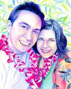 Engaged couple custom portrait painting, Engagement gifts for couple, Fiance gift for him, Unique gifts for men, Romantic couples gift Custom watercolor portrait Gifts for boyfriend Gifts for fiance Romantic Boyfriend Gifts, Romantic Gifts For Him, Unique Gifts For Men, Romantic Couples, 2 Year Anniversary Gift, Unique Anniversary Gifts, Boyfriend Anniversary Gifts, Gifts For Fiance, Christmas Gifts For Girlfriend