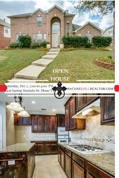 OPEN HOUSE:  Saturday, December 2 from 2:00 to 4:00 PM