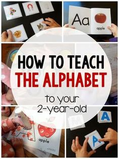 How to Teach Your Child to Read - How to teach the alphabet to your Give Your Child a Head Start, and.Pave the Way for a Bright, Successful Future. Toddler Learning Activities, Alphabet Activities, Infant Activities, Toddler Preschool, Preschool Activities, Motor Activities, Activities For 2 Year Olds Daycare, Teaching A Toddler, Teaching Toddlers Letters
