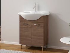 Grey Oak Perla 600 Cabinet & Basin | CTM