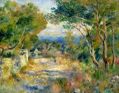 L'Estaque by Pierre Auguste Renoir