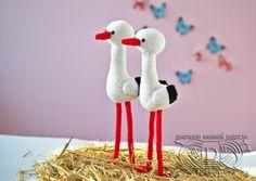 amigurumi stork (use Google Translate)
