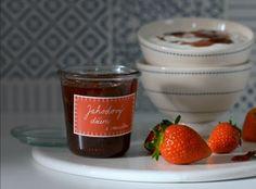 Jahodový džem s vanilkou