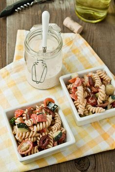 We love pasta salad, especially Greek Pasta Salad! We think you will too.