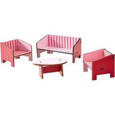 Little Friends - Puppenhaus-Möbel Wohnzimmer HABA 300507 - Traumhafte Möbel fürs Puppenhaus ♥ sorgfältig ausgewählt ♥ Jetzt online bestellen!