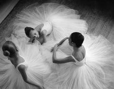 La danse, c'est aussi du partage avec le public et les autres danseuses.